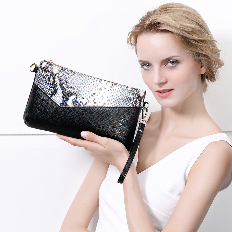 Temperament clutch bag female large capacity clutch bag Korean version 2018 new Messenger bag personalized fashion ladies handbag