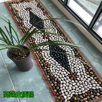 Stone Stone leather cobblestone stone foot massage foot pad natural foot floor acupuncture points go blanket household acupressure plate