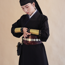 (Jiang Dongji) Han clothing accessories embrace the belly leather belly to protect the waist