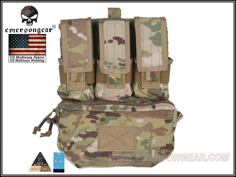 Emerson EMERSON Outdoor Tactical Vest Accessory Pack MOLLE Back panel multi-functional accessory