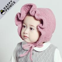 Южная Корея импортированных детское осень зима детей теплой Принцесса Хат