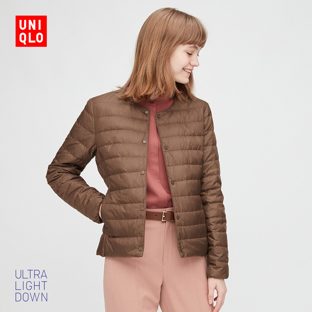 Uniqlo Womens Advanced Lightweight Down Portable Jacket 429456 UNIQLO