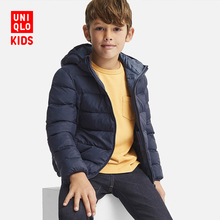 Children's wear / boy's light WARM PADDED Hooded Coat 409219 UNIQLO UNIQLO