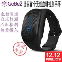 GoBe2 Generation Noninvasive Glucose Smart Hand Ring for Heart Rate, Blood Pressure, Sleep Monitoring Watch for Calorie Loss