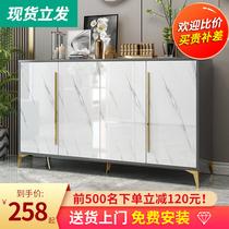 Light luxury shoe cabinet Household door simple modern door entry Simple small household entrance cabinet new 2020 explosion