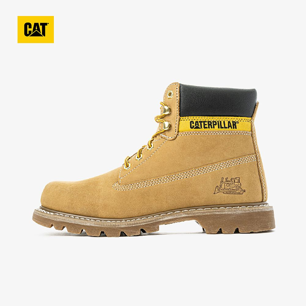 CAT Carter evergreen classic yellow boots mens outdoor anti-slip wear-resistant work boots mens counters the same