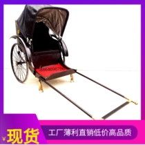Special offer can pull the old Republic of China old Shanghai antique retro rickshaw photography display scenic attraction solicitation tourism
