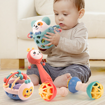 Baby newborn newborn ringing puzzle 0 to 6 months more than 18 and a half 0-1 year old baby toys will move 3