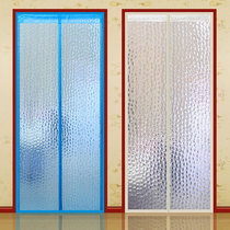 Air conditioning curtain winter warm wind kitchen fumes home autumn and winter wind partition plastic transparent self-priming magnet