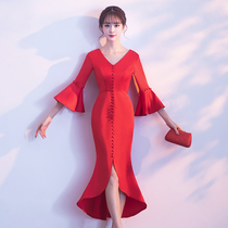 Winter fish Tail Red toast Clothing
