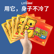 Liyue warm stickers Baby stickers Self-heating female palace cold conditioning warm body stickers Motherwort palace warm treasure warm hot stickers Wormwood