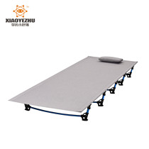 New Ultra light outdoor aluminum alloy single bed military bed office lunch break Camping outdoor portable Rollaway bed
