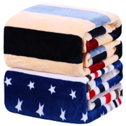 Winter coral fleece blanket flannel blanket dormitory Plush double sofa quilt sheet thickening