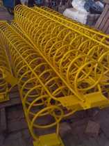 Spiral Bicycle parking rack double anti-rust function bicycle parking rack bicycle parking space