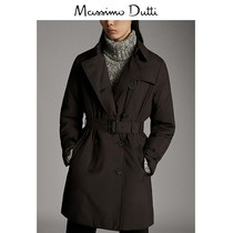 End of season discount Massimo Dutti Womens Black quilted windbreaker 06706668800