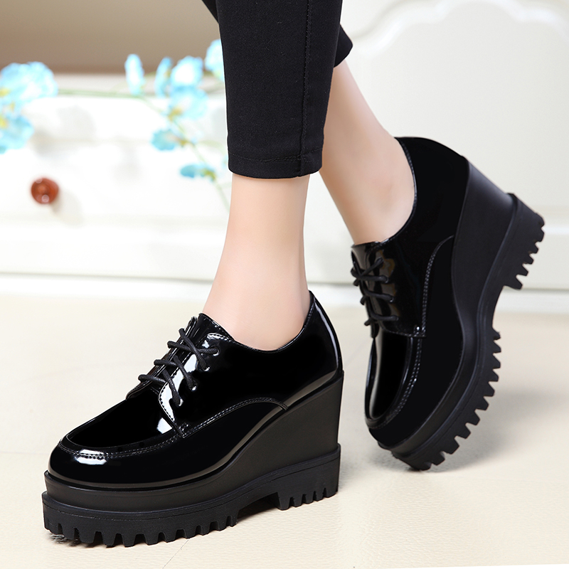 Trend Brock women's shoes 2018 autumn new Korean version of the wild thick-soled muffin fashion comfortable flat shoes women