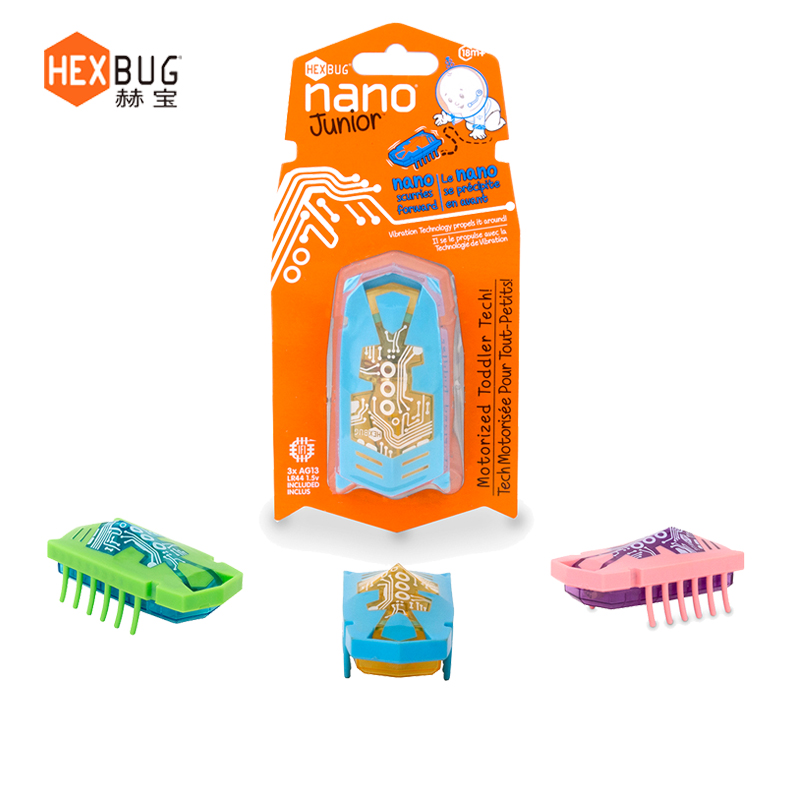 Hebao HEXBUG Nano Electric Children Crawl Toys Electronic Children Mechanical Insect Vibration