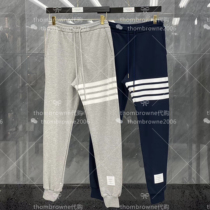 Thom Browne Tom Brown TB classic pants cotton four bars mens and womens casual trousers