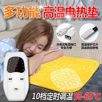 High-temperature electric blanket small heating cushion warm feet warm waist small hot treatment pet mini small electric blanket