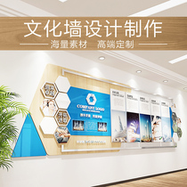 Stereo-Queer Corporate Culture Wall Company Vision Values Office Style showcases decorative design customization