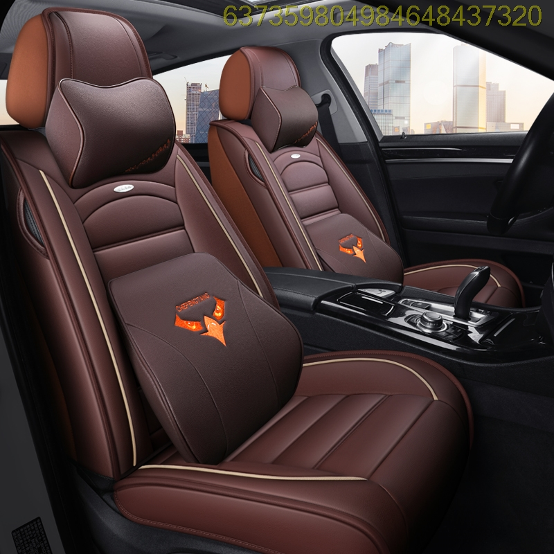 The 17 CS15 1.5L automatic luxury sunroof car seat sleeves are fully surrounded by leather seat cushions