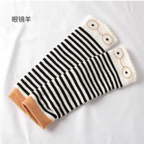 宝宝睡觉护胳膊手臂套 秋冬季冬婴儿假袖子护膝过膝袜套加厚保暖