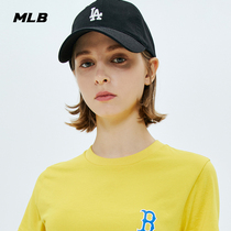 MLB official mens and womens hat NYLA baseball cap retro little LOGO sports casual trend duck tongue cap CP77