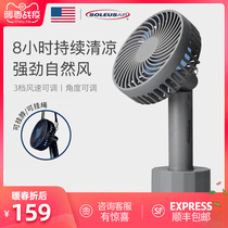 United States shuleis silent mini handheld small fan usb rechargeable portable portable small fan