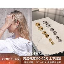 JUNESHAN integrated shop TOMWOOD earrings Norway Sasa with the same U-shaped water drop shaped stud earrings female summer niche
