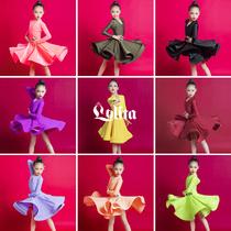 Лолита летние девушки латиноамериканские танцы правила профессионального конкурса одежда Искусство экзамен оценка Костюм с большой юбкой костюм для выступлений