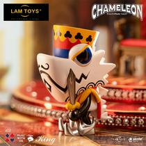 lamtoysWAZZUP chromatin blind box 7th generation poker kingdom series tide play model doll pose