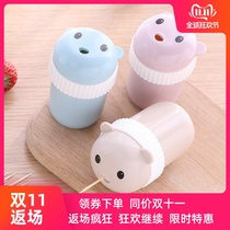 New home creative personality toothpick box toothpick bucket cute portable minimalist toothpick barrel Nordic ins teeth
