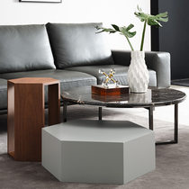 Italian combination set a few packs of modern simple three-piece set of coffee table multi-functional geometric set a few sides) know home
