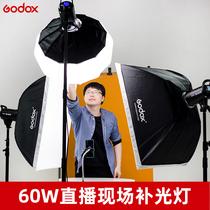 Shen Niu SL60W photography light Taobao live studio fill light LED constant bright anchor beauty photo light indoor SL150W second generation