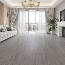 Reinforced composite wood floor household environmental protection bedroom gray light luxury King Kong wear-resistant waterproof warm factory direct 12mm