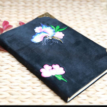 Xiangxi seven embroidery square seven embroidery square miao embroidery hand-embroidered notebook minority