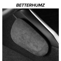BH | Alcantara automobile leg cushion for leaning on fur the main cotton supplies a knee pad interior driving leg by memory