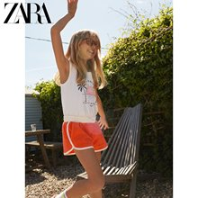 Zara new children's wear girls new towel casual shorts in spring and summer 05431610649