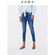 ZARA Womens Z1975 asymmetrical trouser jeans 06164153427