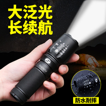 Flashlight light waterproof rechargeable super bright outdoor 5000 long-range hunting home mini T6L2LED