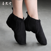 Belly dancing shoes Female adult soft bottom 2018 new jazz dance shoes male high gang practice shoes modern canvas boots