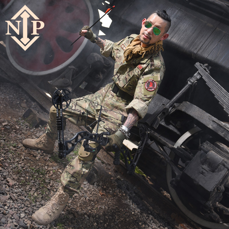 NIP II Male Special Forces Outdoor CS Field Training Suit for Foreign Military MC Tactical CP Camouflage Suit