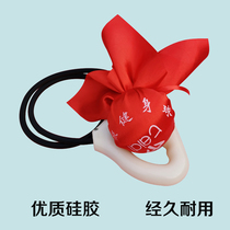Middle-aged and elderly Teddy card inpolar fitness ball throwing ball tai chi meteor elastic back beat massage square dance