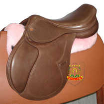 St. Tsung Horse Obstacle Saddle Wing Soft Psoriate Argentine Barrier Saddle SD319