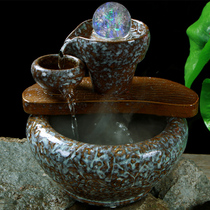 When to run the flow of aquatic wealth swing pieces living room poly treasure pot wealth rolling feng shui wheel transfer money crystal ball