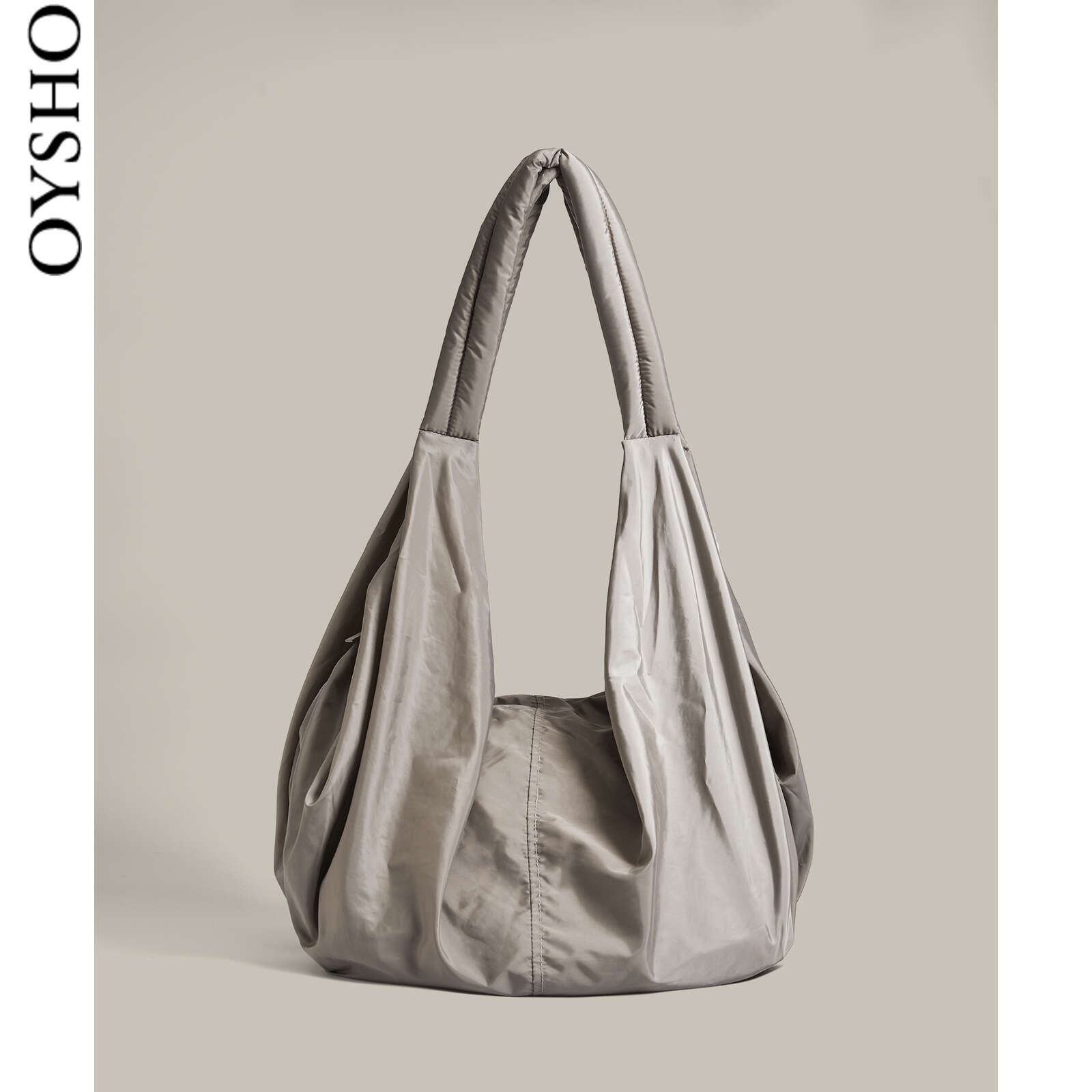 Oysho grey casual sports bag fitness travel bag handbag one-shoulder bag girl 14120780085