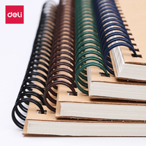 Effective notebook simple college students notepad thickened a5 stationery is not loose leaf this postgraduate small fresh spiral exercise book large b5 work kraft paper wholesale vintage coil