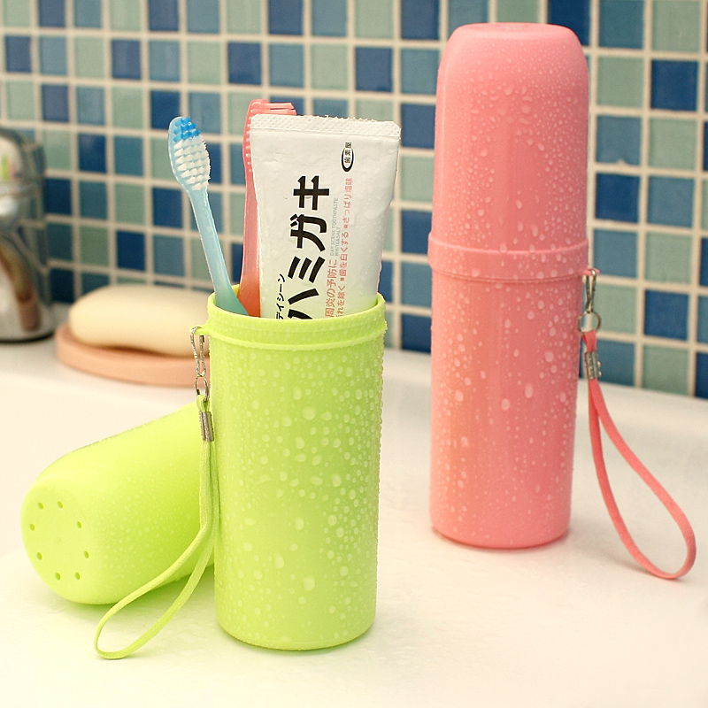 Travel Goods Washing Cup Travel Set Washing Bag Receiving Towel Toothpaste Toothbrush Box Mouthwash Cup