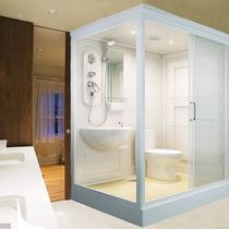 Overall shower room hotel Home bathroom premium bath with toilet all-in-one mobile toilet