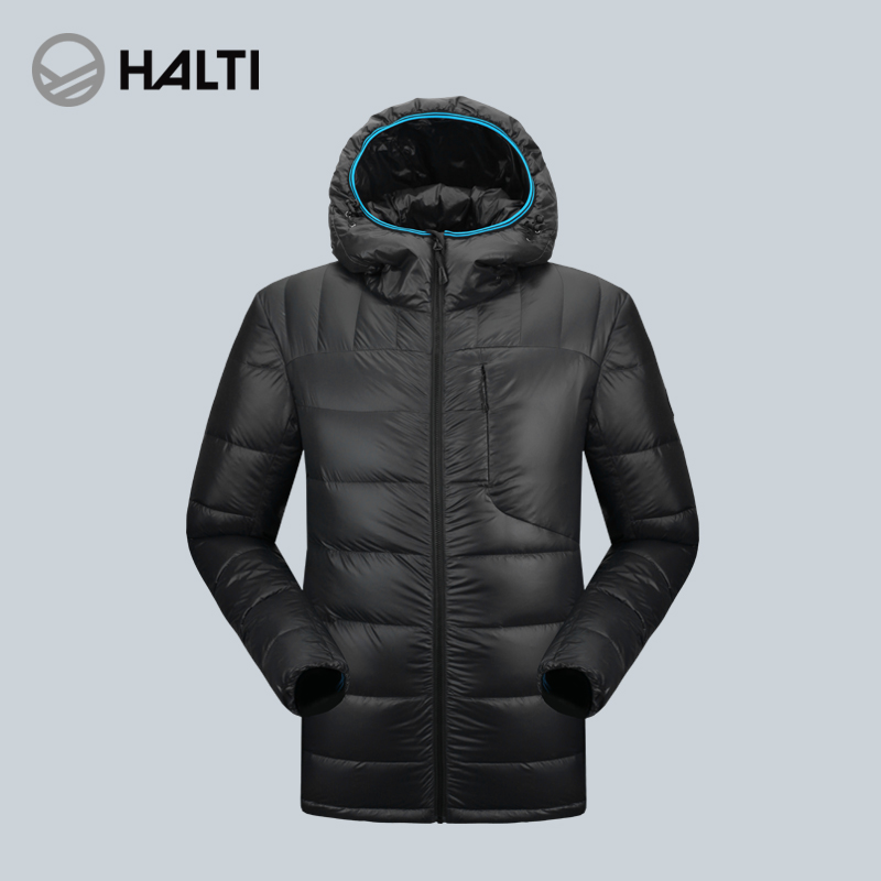 HALTI/HALDI Outdoor Men's and Women's Elastic Warming and Thickening Down Jacket H100-0001